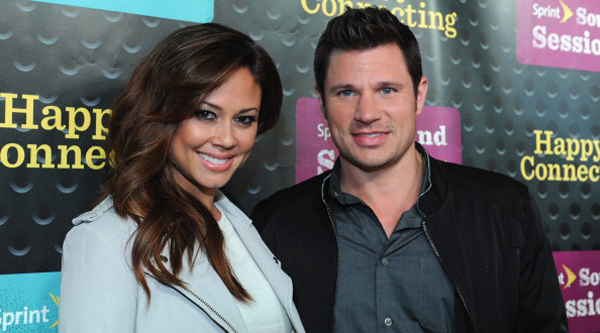 NEW YORK, NY - APRIL 29:  Vanessa Minnillo Lachey and Nick Lachey attend Sprint Sound Sessions at Webster Hall on April 29, 2014 in New York City.  (Photo by Craig Barritt/Getty Images for Sprint)