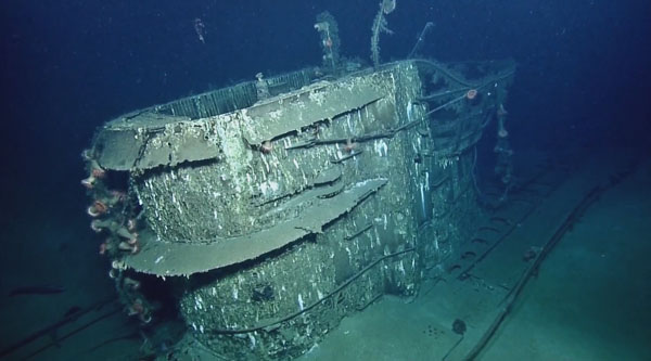 titanic ship underwater - photo #22
