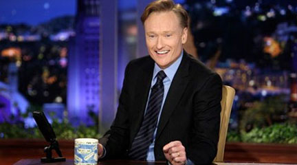 He's baaack: Conan returns to late-night with ease