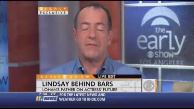 Michael Lohan speaks on Lindsay's lockup