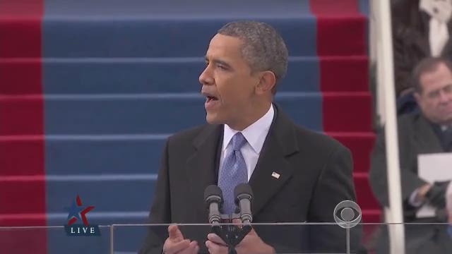 WATCH: President Obama's inaugural speech