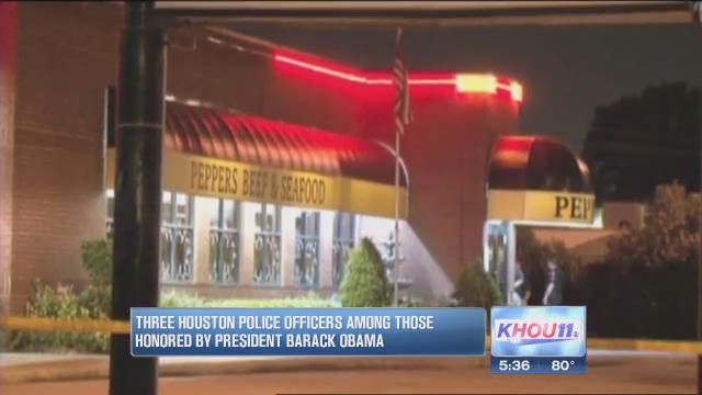 3 HPD officers honored by Obama for acts of courage