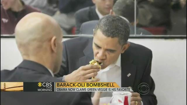 Barack-li backlash: What's your fave food, Mr. President?