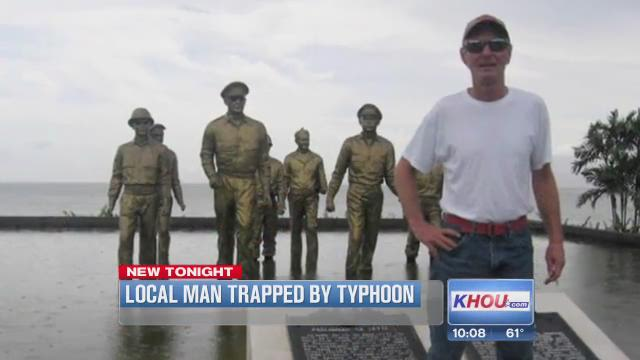 Local man trapped by typhoon; parents search for answers