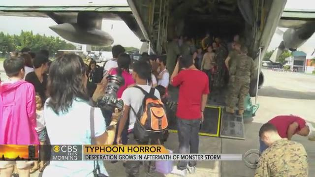 Philippines typhoon victims beg for help as aid trickles in