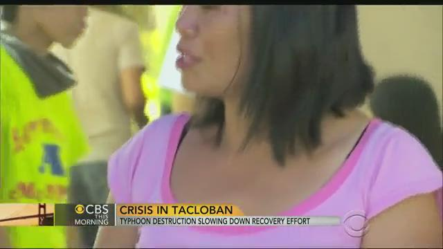 Philippines typhoon recovery: line after line in hard-hit Tacloban