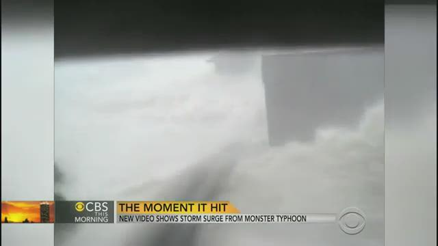 Watch: New video of Typhoon Haiyan storm surge