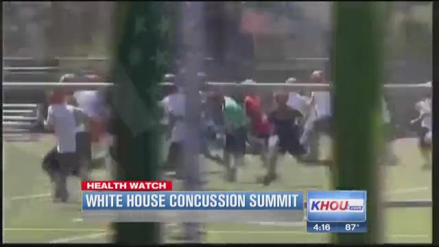 Obama: Sports concussions need more attention