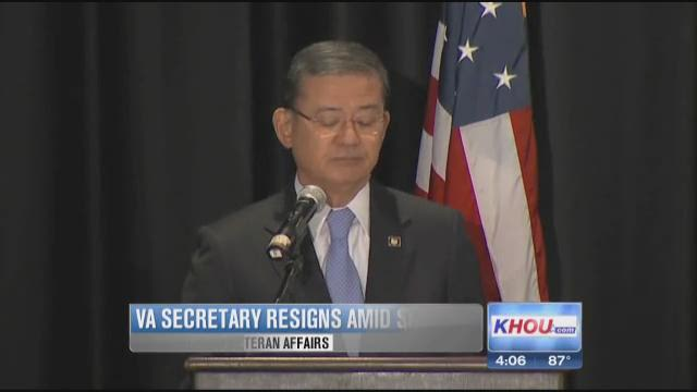 Embattled VA chief Shinseki resigns