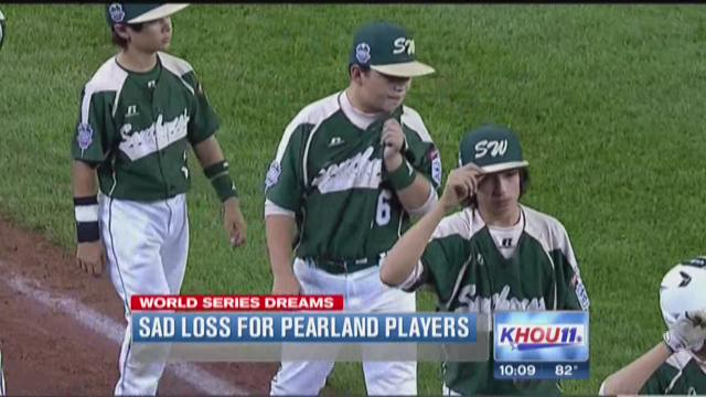 Sad loss for Pearland players