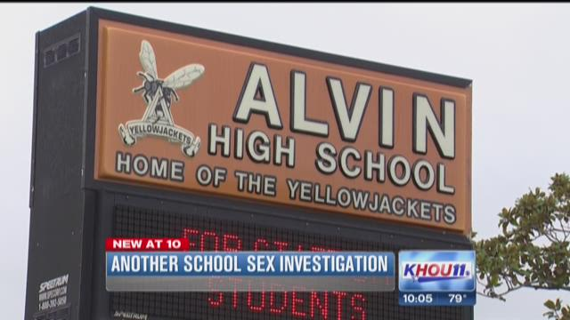 Another school sex investigation