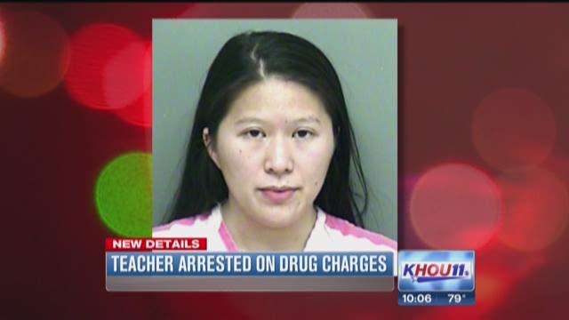 Teacher arrested on drug charges