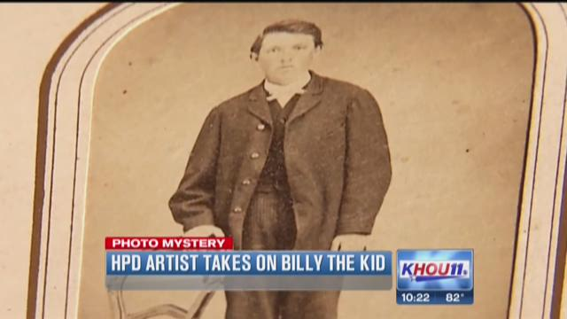 HPD artist takes on Billy the Kid