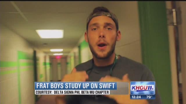 Frat boys study up on Swift