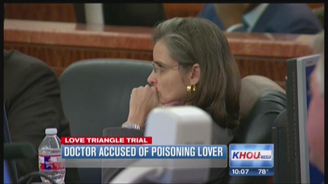 Doctor accused of poisoning lover