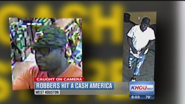 Robbers hitting Houston cash stores