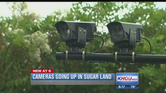 Cameras going up in Sugar Land