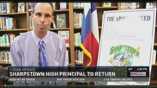 Sharpstown High School Principal Robert Gasparello has accepted a one-year pretrial diversion program to avoid failing to report child abuse charges.