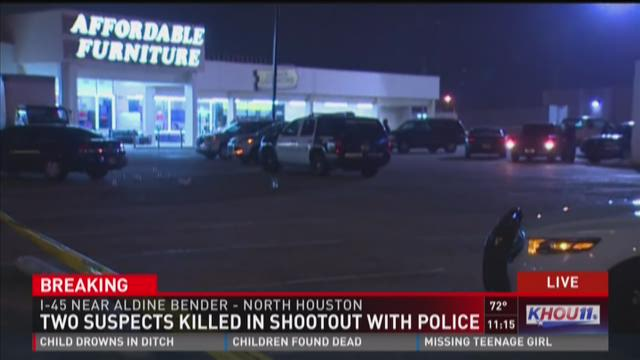 A bullet pierced the window of a Denny's restaurant in north Houston on March 17, 2016.