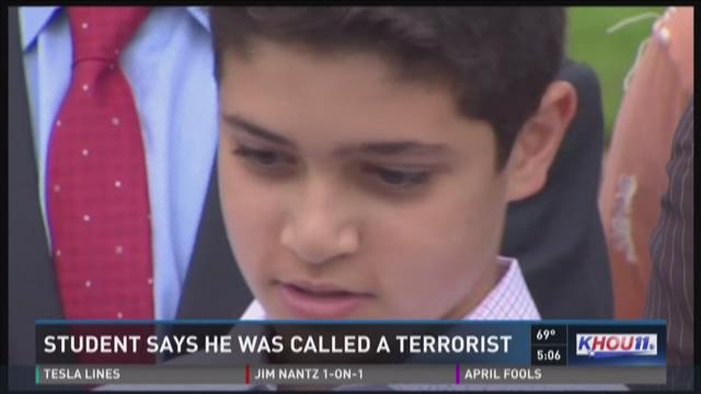 Teacher allegedly calls middle school student a 'terrorist