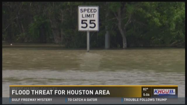 Flood threat for Houston area