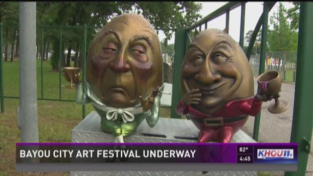Bayou City Art Festival underway