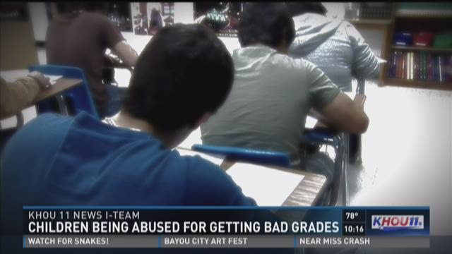 I-Team: Bad grades lead to child abuse