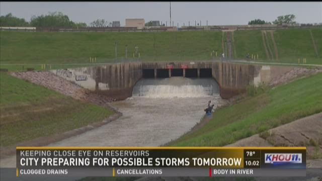 City preparing for possible storms Saturday