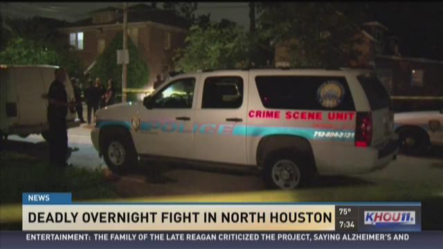 Deadly overnight fight in Houston