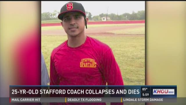 25-year-old Stafford baseball coach dies suddenly