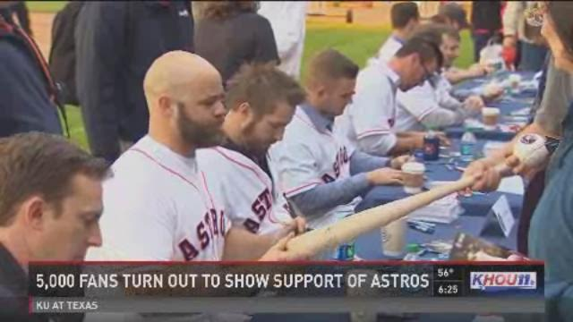 Future stars on display at Astros FanFest