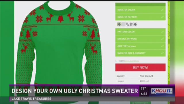 Create your own ugly christmas sweater
