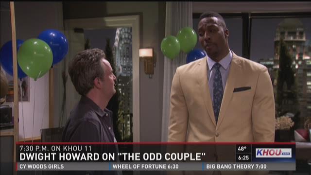 "Dwight Howard on CBS' ""The Odd Couple"""