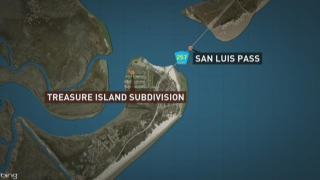 Treasure Island San Luis Pass