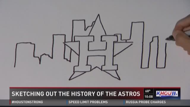Sketching out the history of the Astros