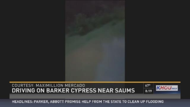 Cypress, Tomball hit with street flooding