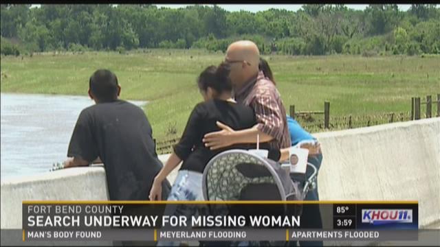 Flood victim missing near Rosenberg
