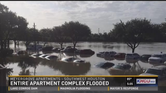Flooded apartments