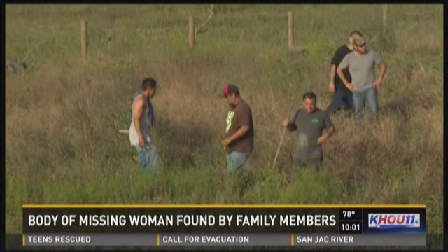 Missing woman found dead