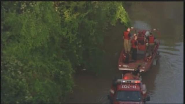 Raw - San Jac river rescue