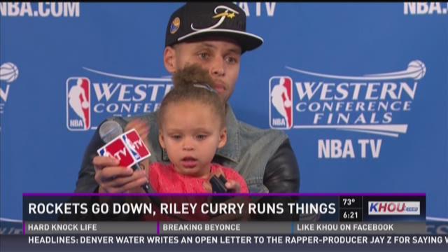 Devi Dev: NBA star's little daughter runs the show
