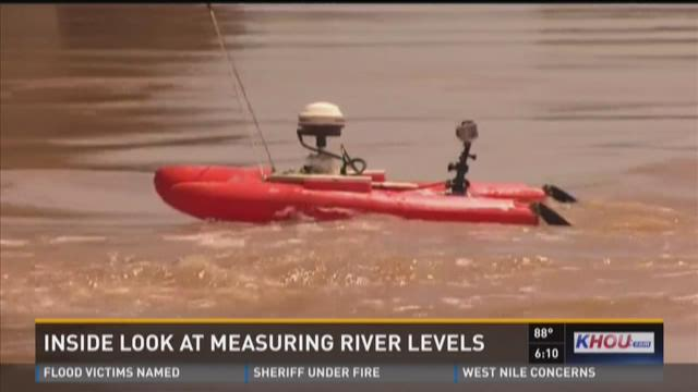 Measuring the river