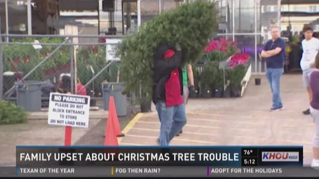 Family Upset About Christmas Tree Trouble
