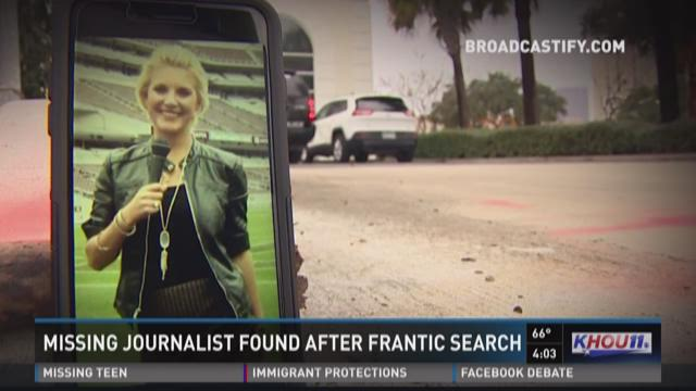 Family and friends searching for missing journalist last seen in Houston