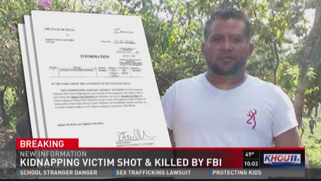 Kidnapping victim killed when FBI agents open fire during raid