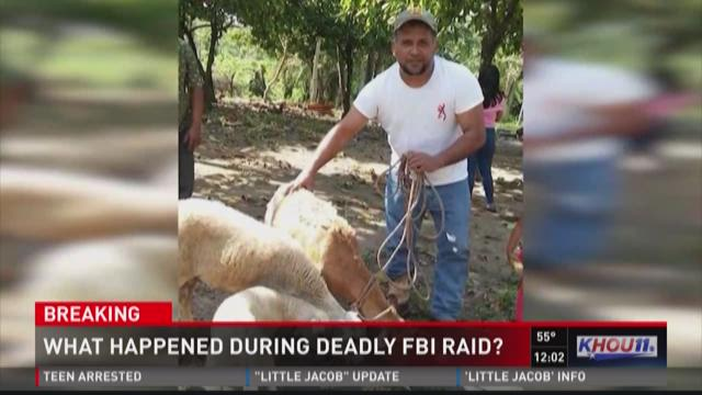 Chief: Kidnapping victim killed in Federal Bureau of Investigation raid grabbed agent's gun