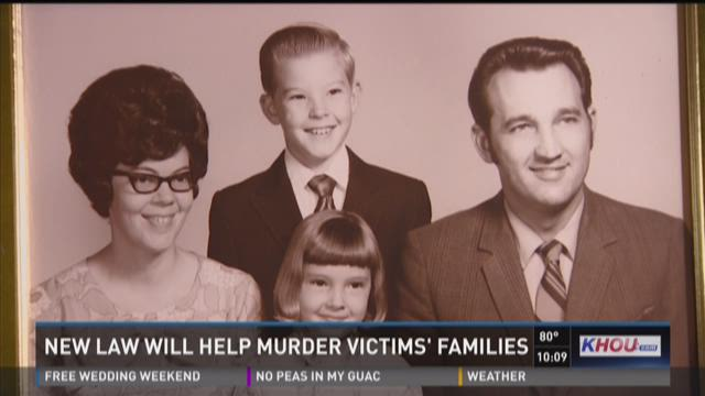 New law will help murder victims' families