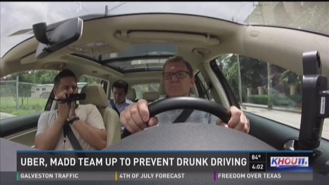 Uber teams up with MADD