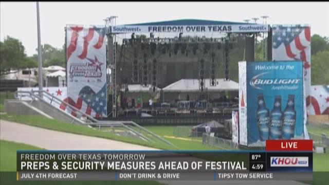 Preps & security measures ahead of festival