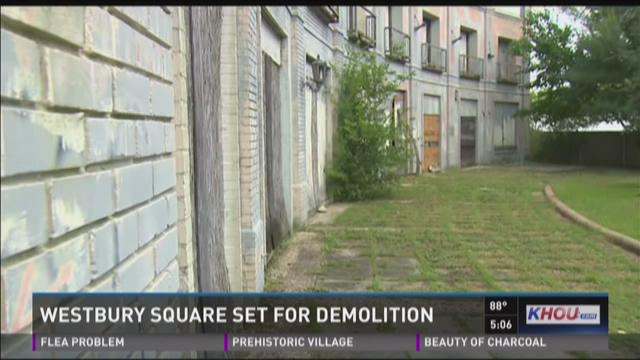 Westbury Square set for demoliton